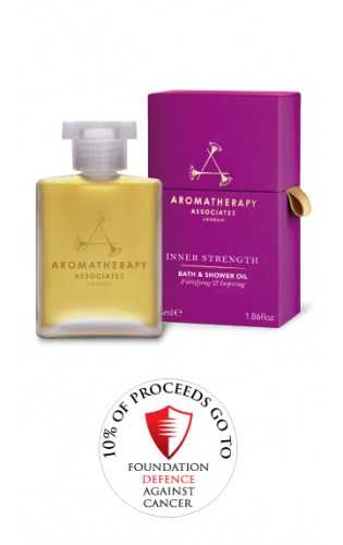 inner strength Aromatherapy bath and shower oil
