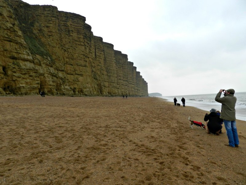 West Bay Beach Broadchurch The famous scene