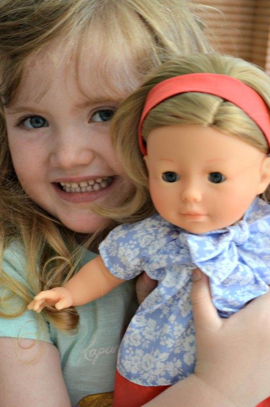 Corolle Vanilla Blonde Pretty Doll 2012 Petalina