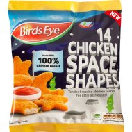 Space Party : Road Testing Chicken Space Shapes from Birds Eye