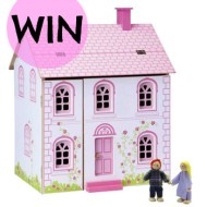 Giveaway : Win a Dolls House in time for Christmas
