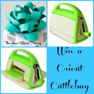 Its Giveaway time : Win a Cricut Cuttlebug