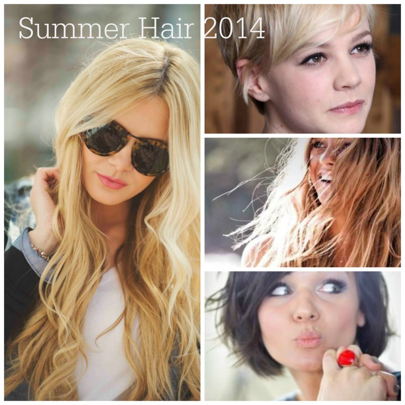 Summer Hair Ideas for 2014, think tousled, effortless chic. Pretty and easy.