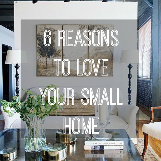 LOVING A SMALL BIJOU HOME