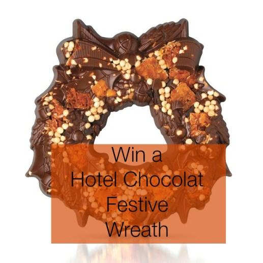 Hotel Chocolate Christmas Chocolate Wreath