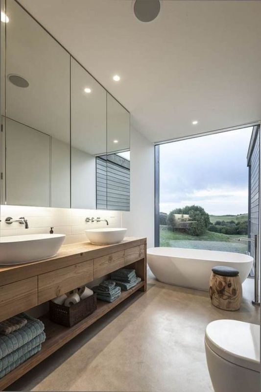 Bathroom mirrored cabinets