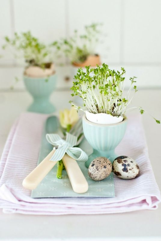 Easter Spring Table setting inspiration