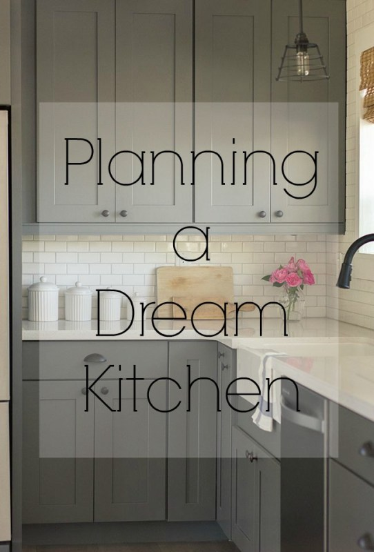 how to plan a dream kitchen,  adding colour, style personality appliances.