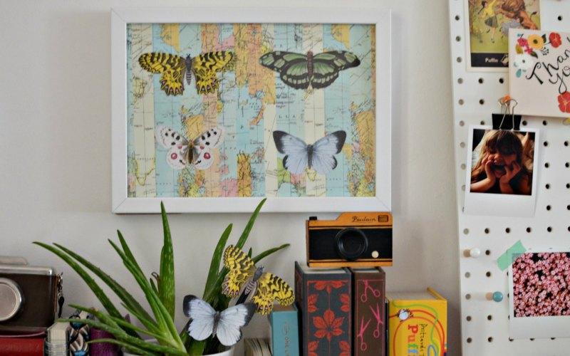 Cricut Explore Air wall art print then cut