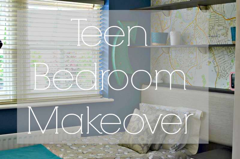 teen bedrrom makeover, the whole prces including a video showing before and after.
