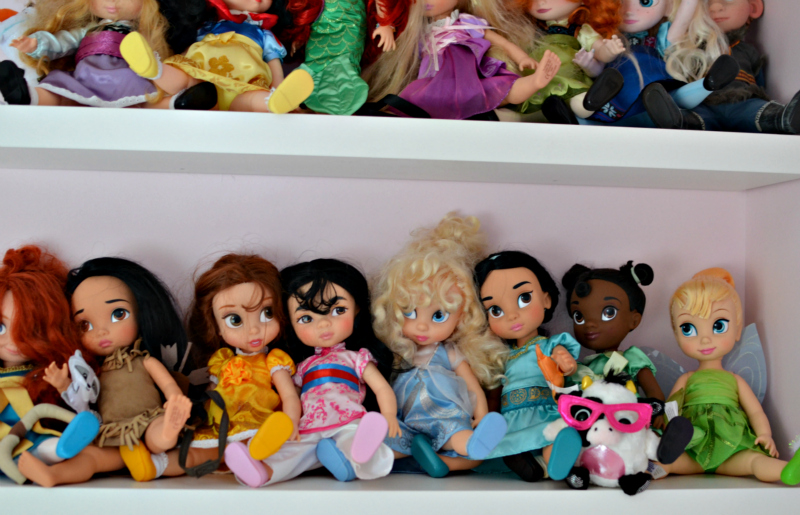 Disney animation dolls collection