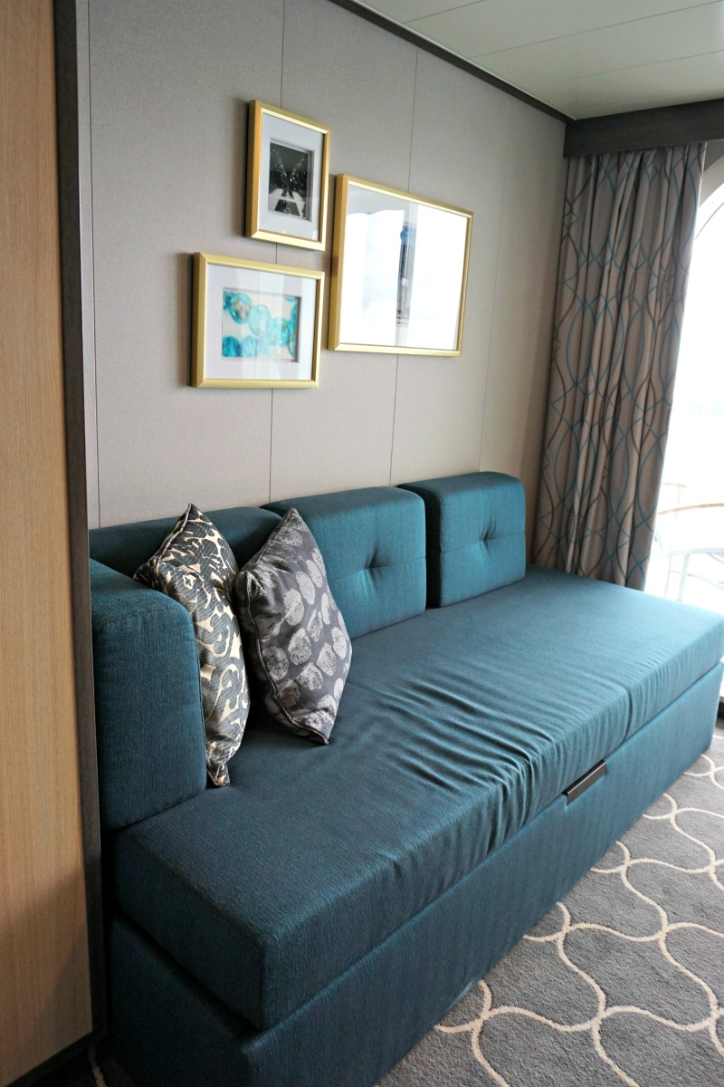 harmony of the seas sofa bed