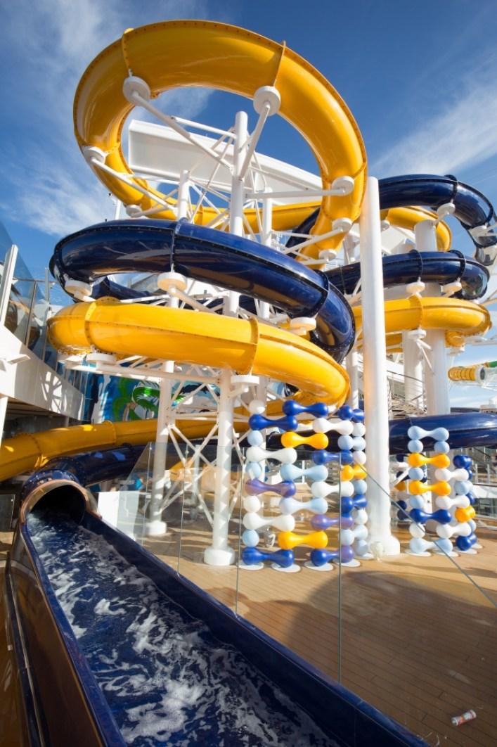 harmony of the seas water slide (2)