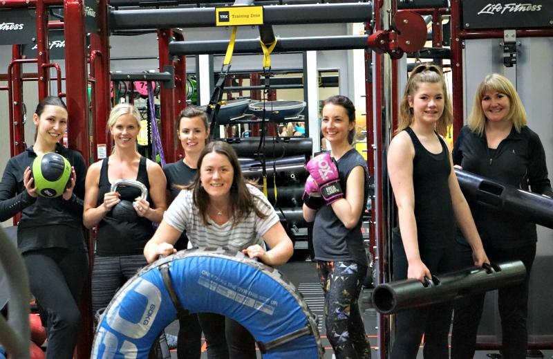 The workout team David Lloyd