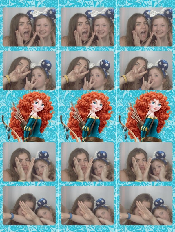 Epcot photobooth