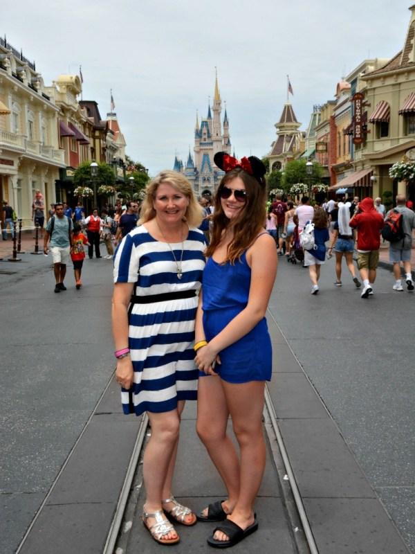 Teenager and Mom Magic Kingdom