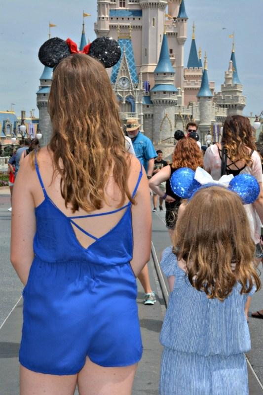 magic kindom ears castle shot