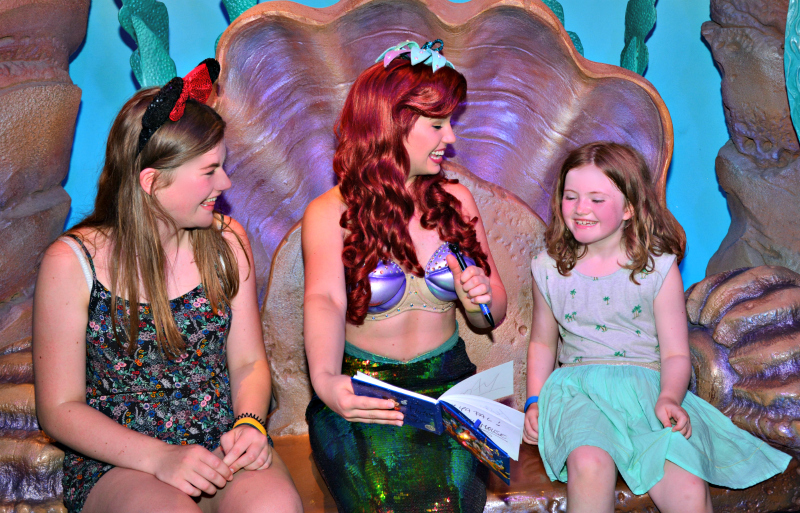 magic kingdom ariel grotto nia and Miss A