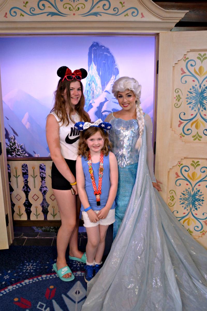 Meeting the princess