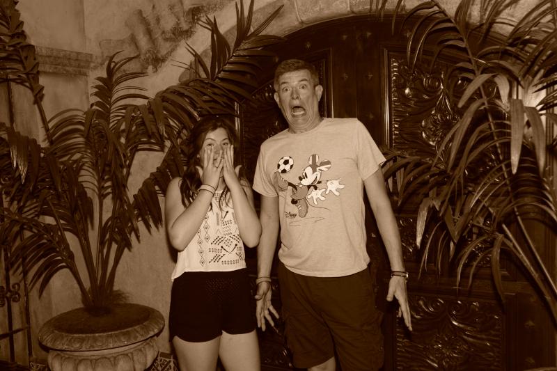 tall fella and Nia scared