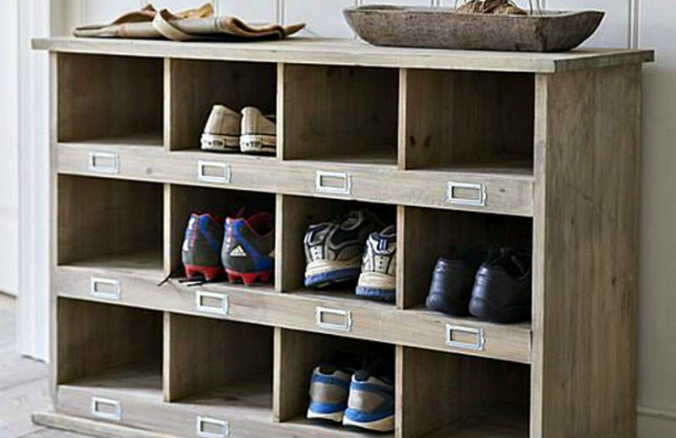 Finishing touches : Shoe Storage