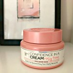 jar of the IT cosmetics cofidence in a cream rosy tone on a my makeup shelf