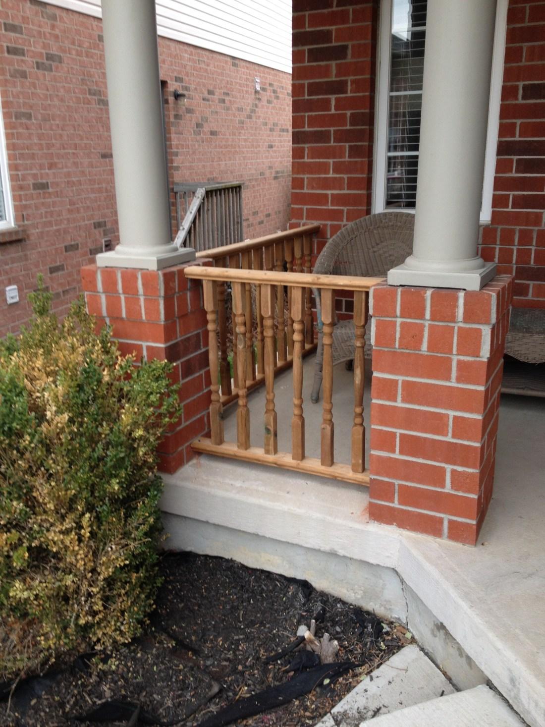 New railings