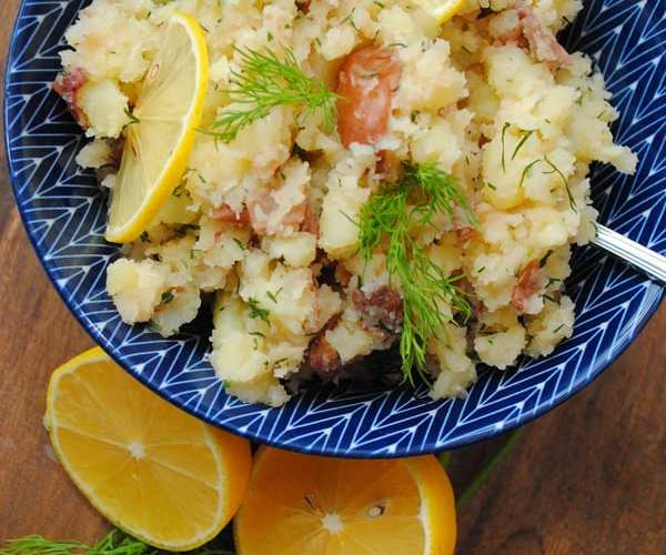Dill Red Potatoes with Lemon & Butter