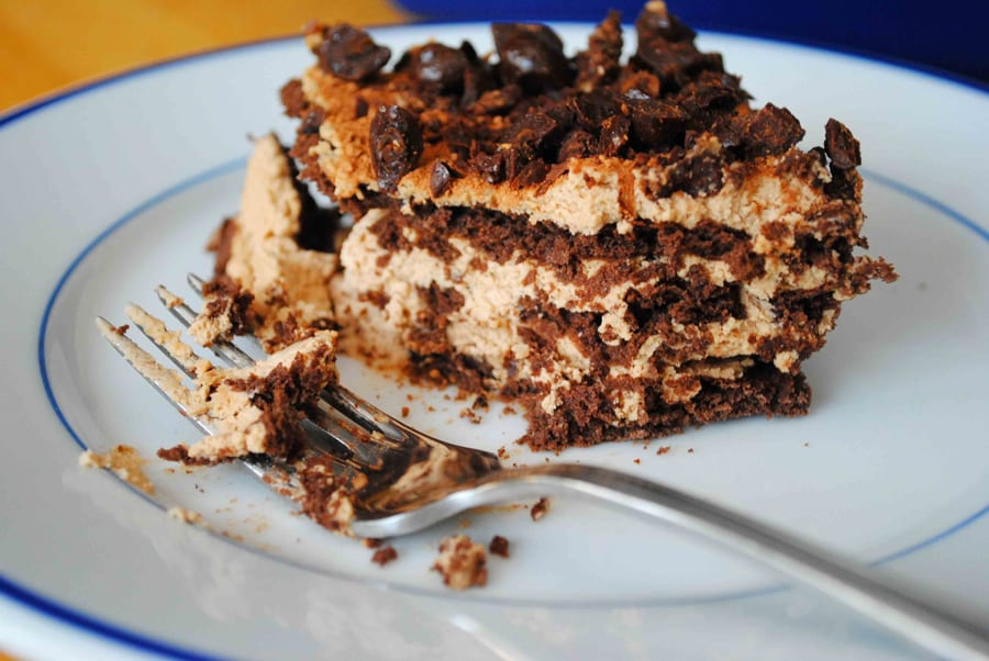 No Bake Tiramisu Layer Cake