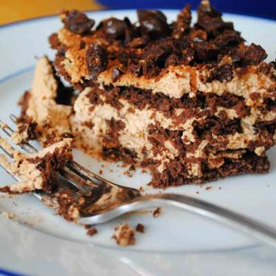No Bake Tiramisu Layer Cake