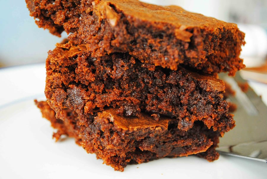 Mocha Fudge Brownies