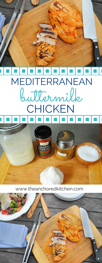 Mediterranean Buttermilk Chicken