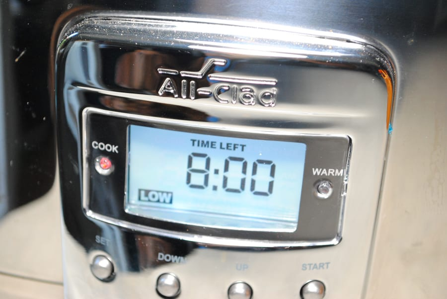time setting for slow cooker