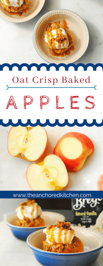 Oat Crisp Baked Apples The Anchored Kitchen