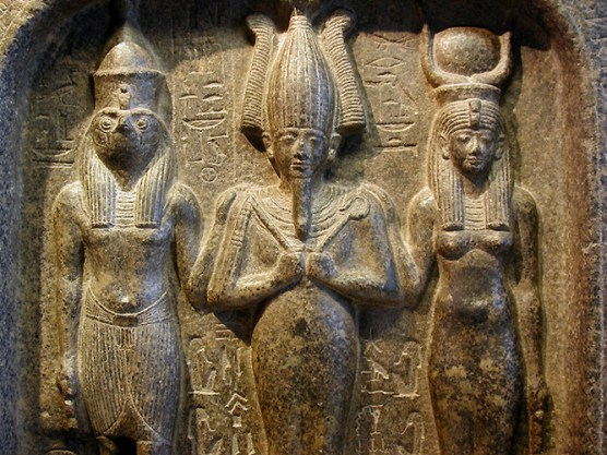Resultado de imagen de Horus, Osiris e Isis