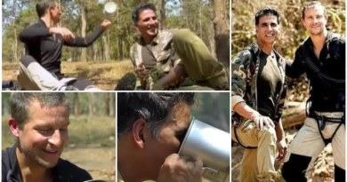 Akshay Kumar drinks 'elephant poop tea' with Bear Grylls in Into The Wild special episode