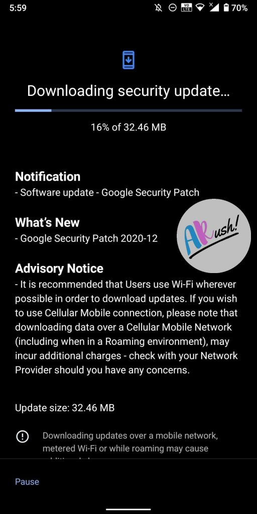 Nokia 7 Plus December 2020 Update Screenshot - The Android Rush