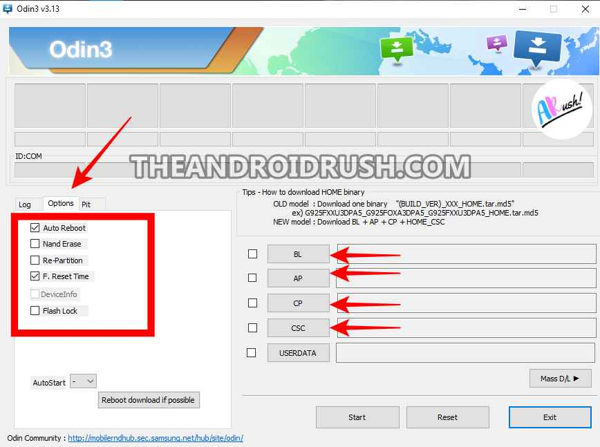 How to Use Odin Flash Tool - The Android Rush
