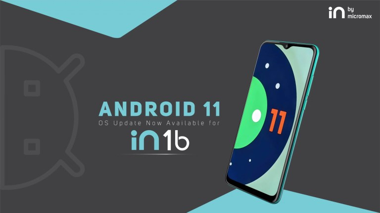 Micromax IN 1B Android 11 Update Released In India - The Android Rush
