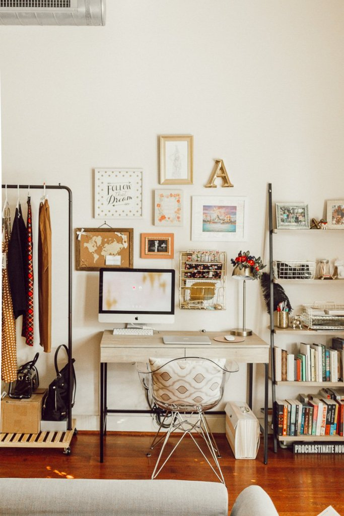 My Tiny, Yet Inspirational Home Office Space