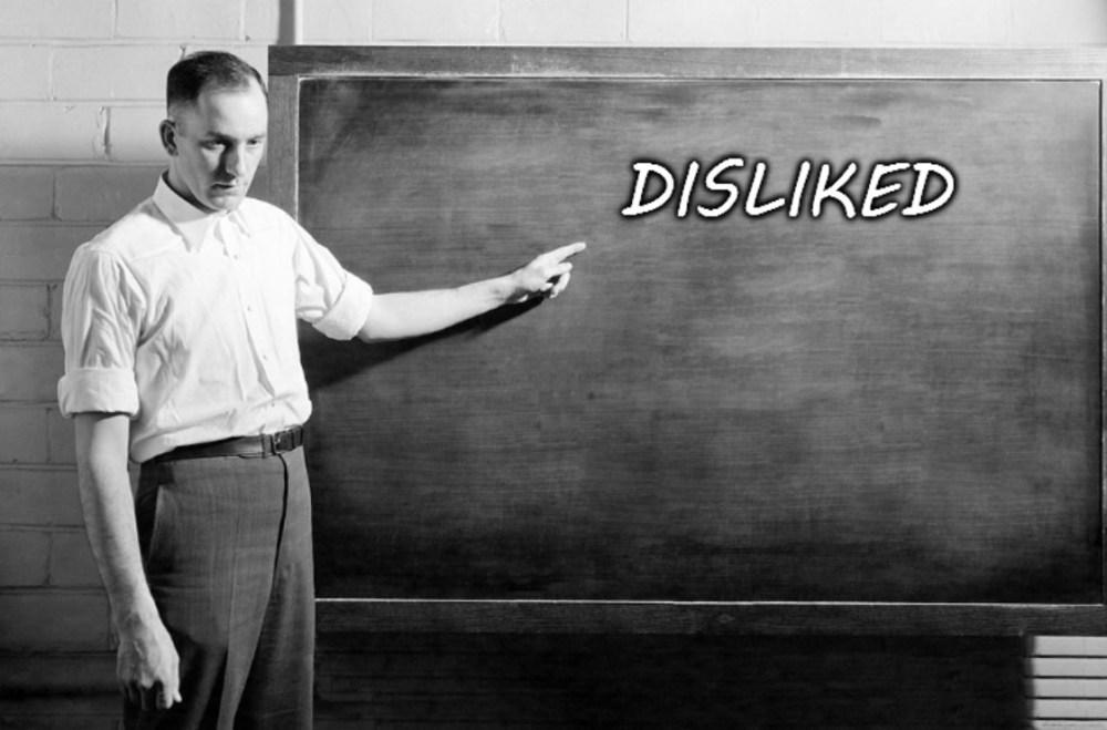 Disliked
