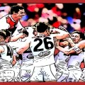 St Kilda players celebrate their victory over the Demons in Round 15 2018. Read The Animal Enclosure's Saints Summary of the match.