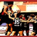 Animal Enclosure All The Goals: St Kilda players congratulate Ryan Abbott on kicking his first goal for the club in their Round 16, 2020 clash with Hawthorn at Metricon Stadium
