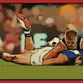 Seb Ross of St Kilda tackles Marcus Bontempelli of Western Bulldogs during the 2020 AFL Second Elimination Final.