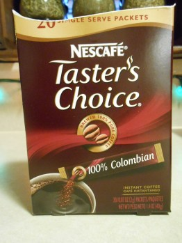 TASTER'S CHOICE COLUMBIAN