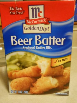 MCCORMICK'S BEER BATTER MIX