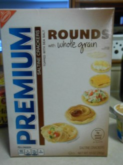 SALTINE WHOLE GRAIN ROUNDS