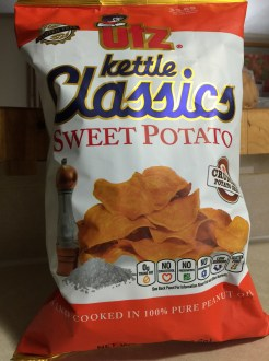 UTZ SWEET POTATO CHIPS