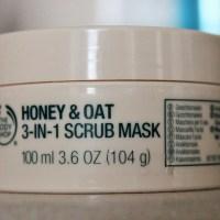 Tester Tuesday: Honey & Oat Scrub Mask