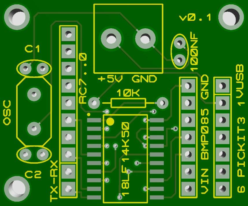 Barometric altimeter v0.1
